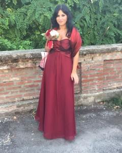 Cristina's dress