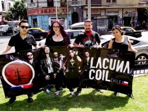 Lacuna Coil Chile