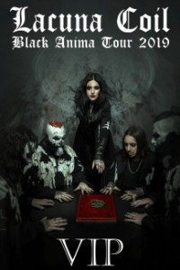 Lacuna Coil Black Anima Tour VIP